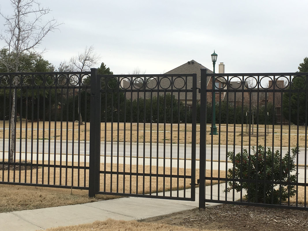 Frisco, Texas Custom Metal Fences and Gates